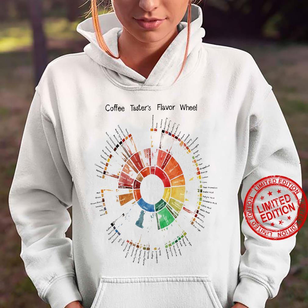 Coffee Taster's Flavor Wheel Shirt hoodie