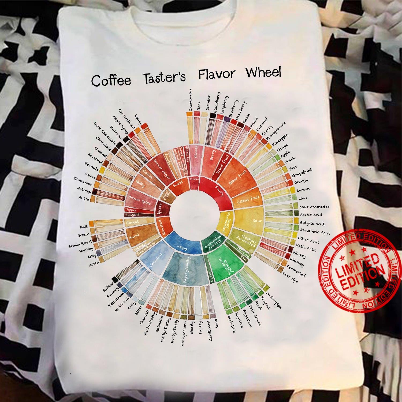 Coffee Taster's Flavor Wheel Shirt