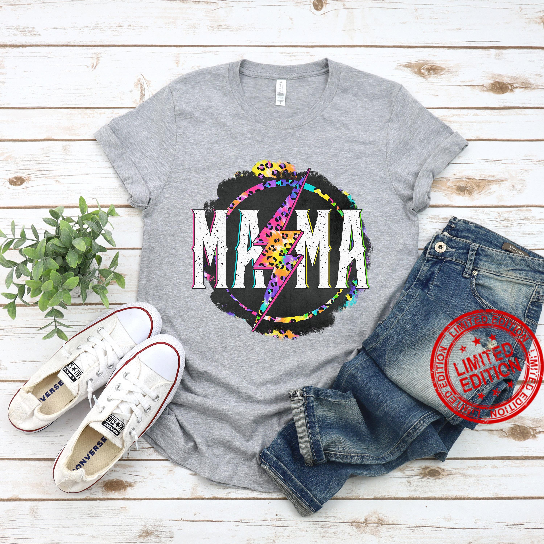 Leopard Rock Mom Shirt