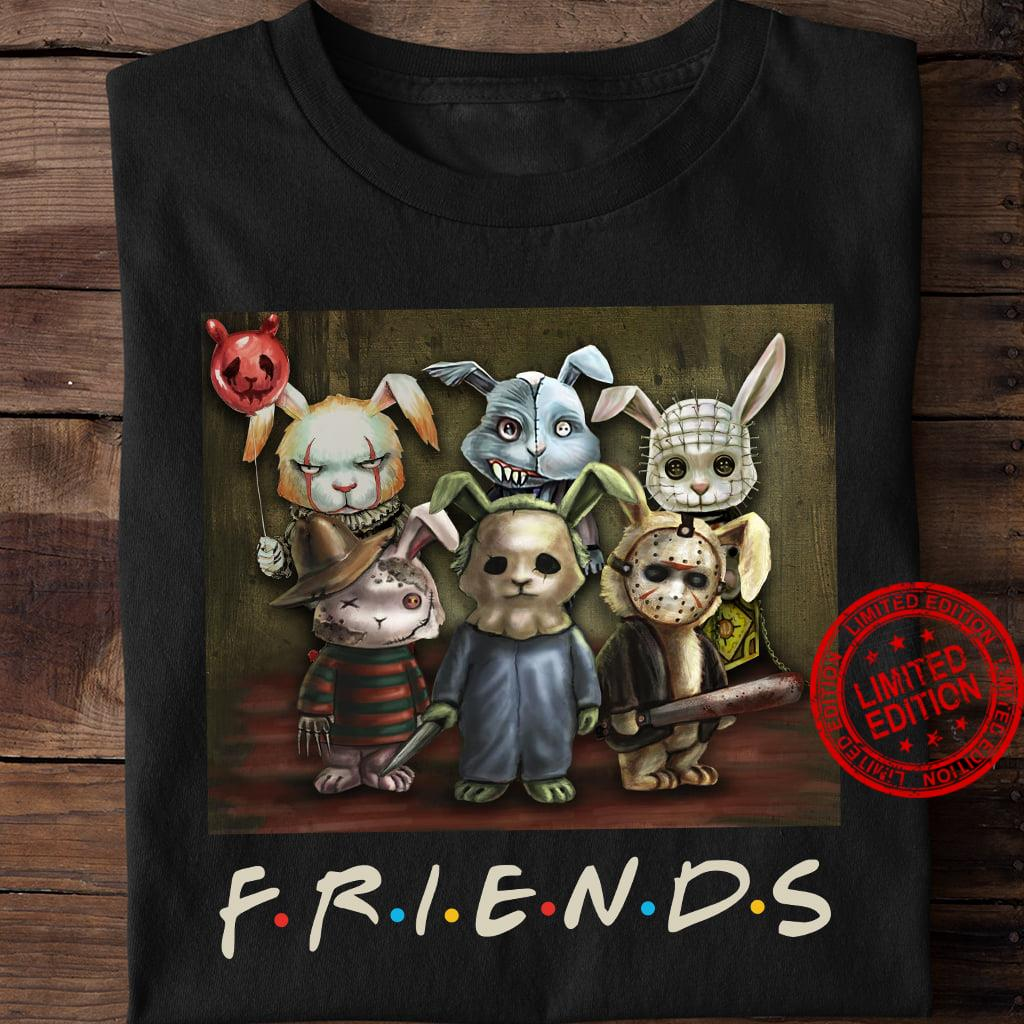 Rabbit Horror Friends Shirt