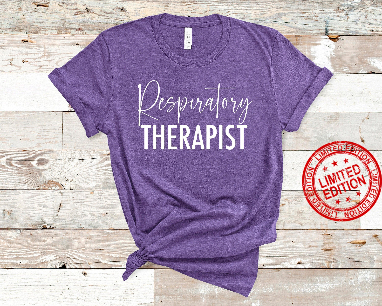 Respiratory Therapist RT Respiratory Therapy Pulmonologist Shirt