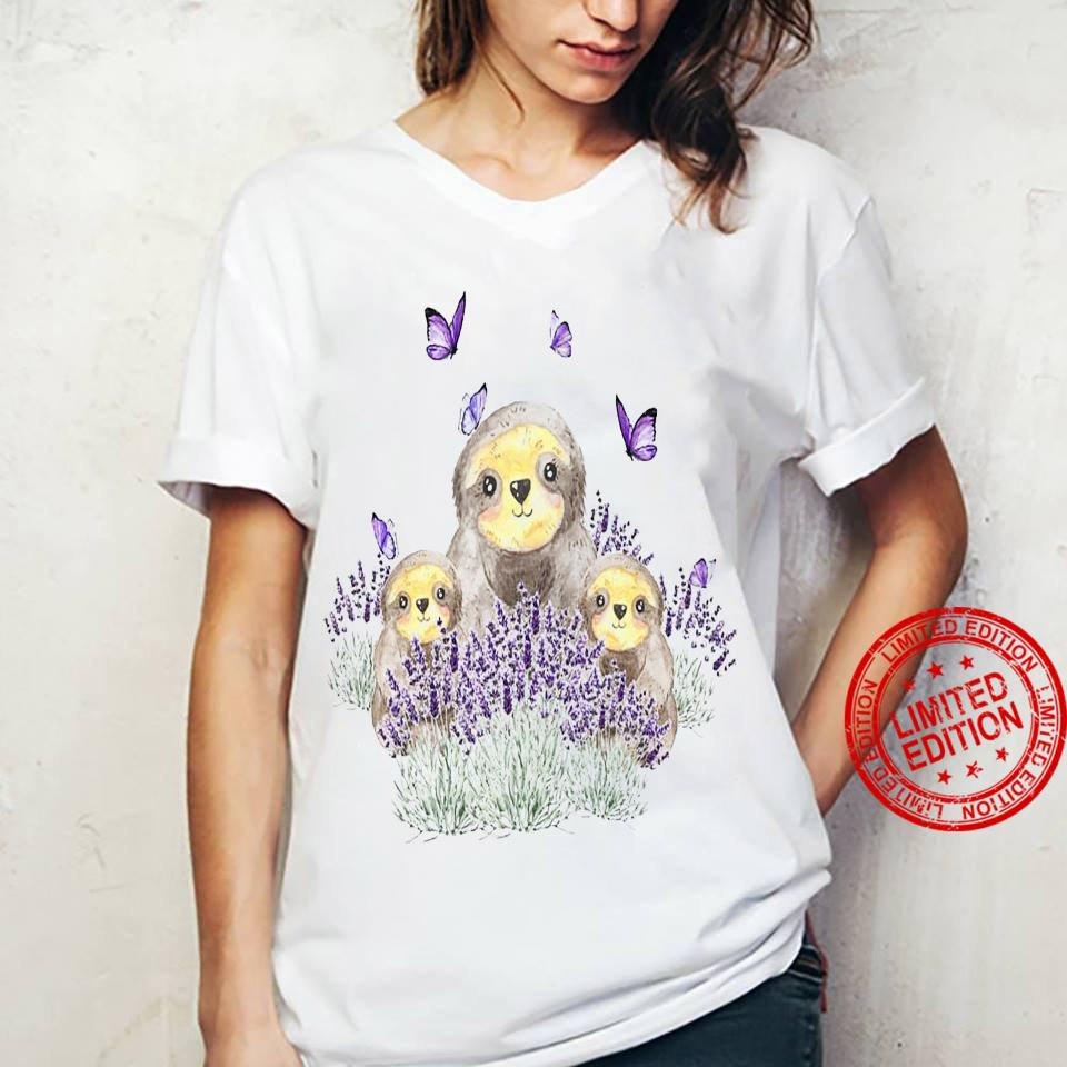 Sloths Shirt ladies tee
