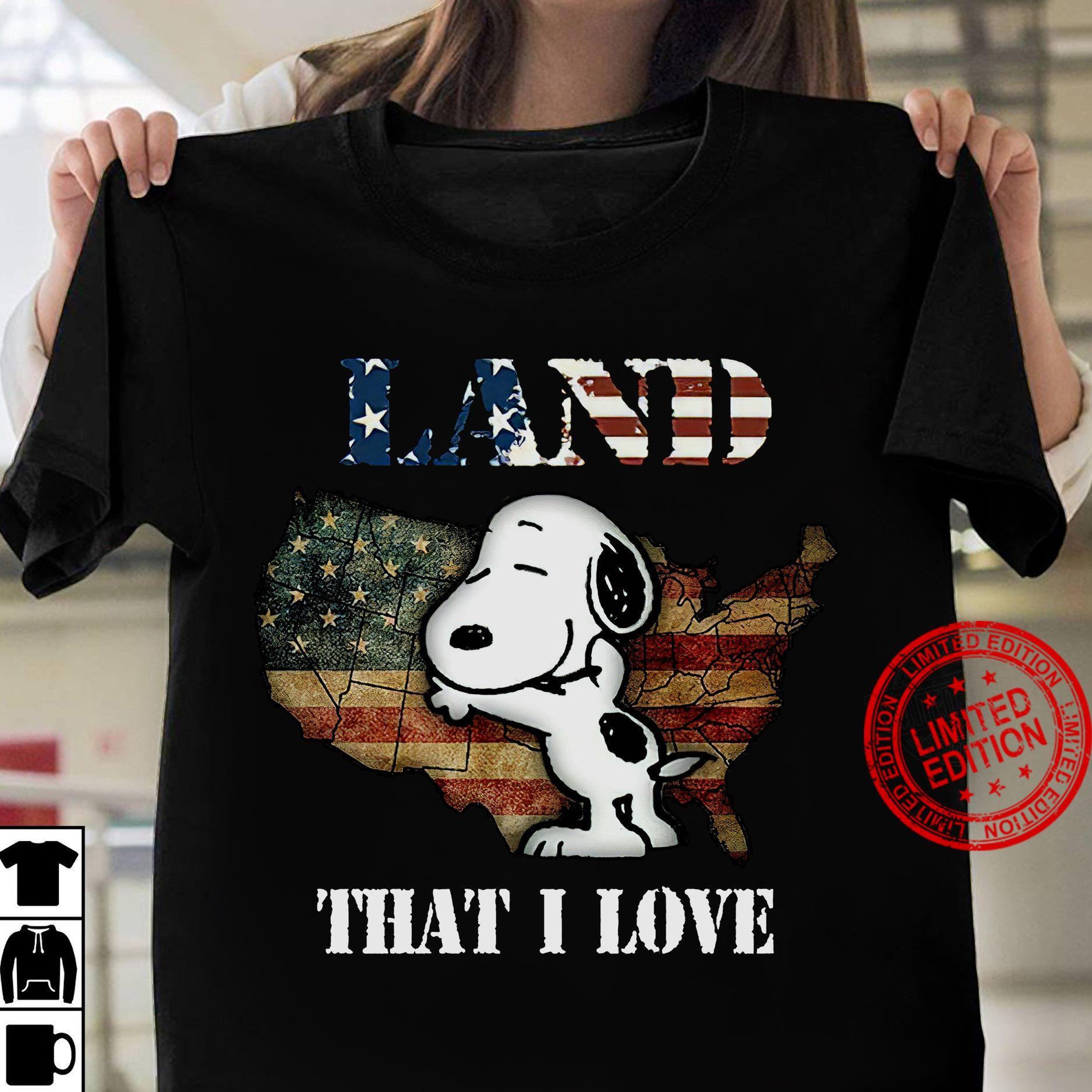 Snoopy Land That I Love Shirt