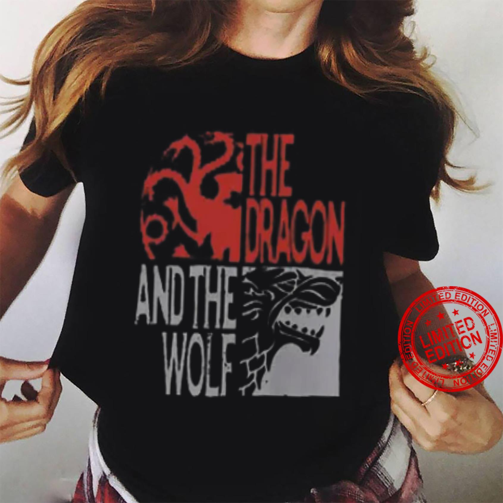 The Dragon And The Wolf Shirt ladies tee