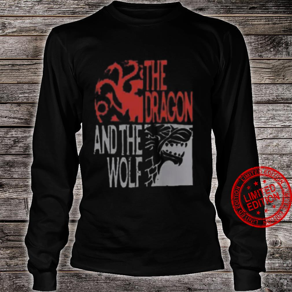 The Dragon And The Wolf Shirt long sleeved