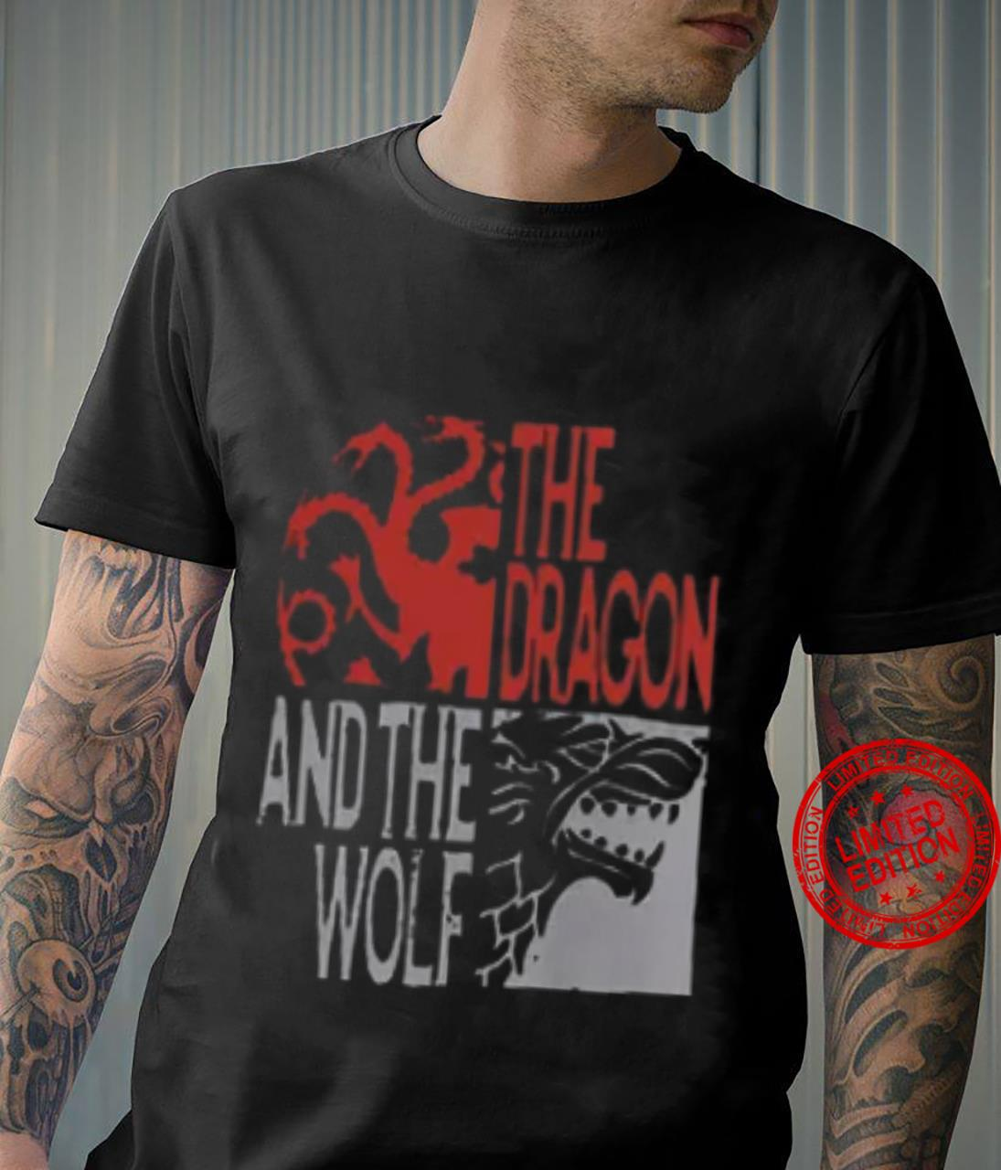 The Dragon And The Wolf Shirt unisex