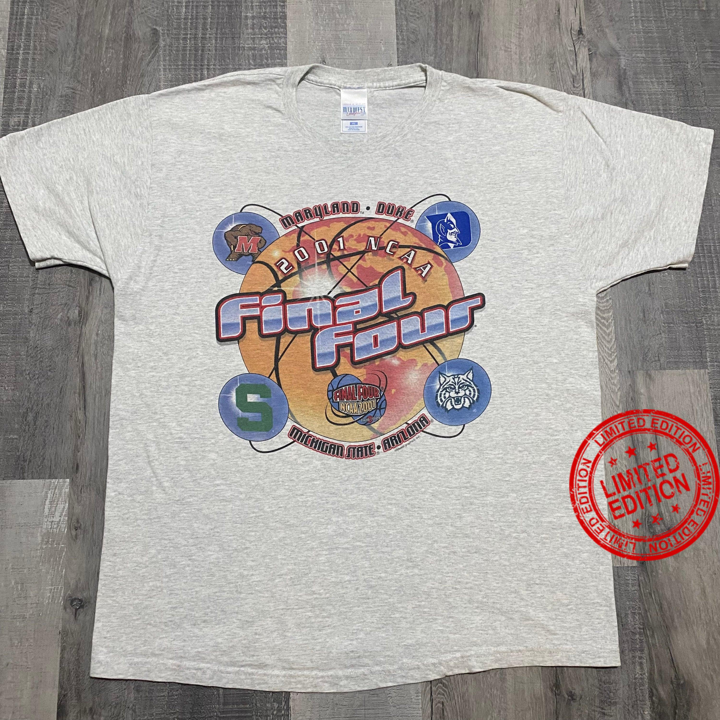 Vintage Midwest 2001 Final Four NCAA Basketball Shirt