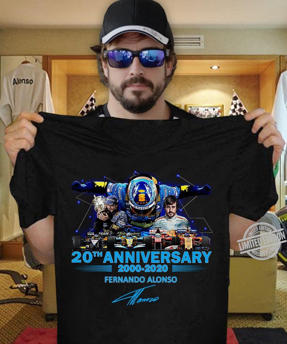 20th Anniversary Fernando Alonso 2000-2020 Shirt