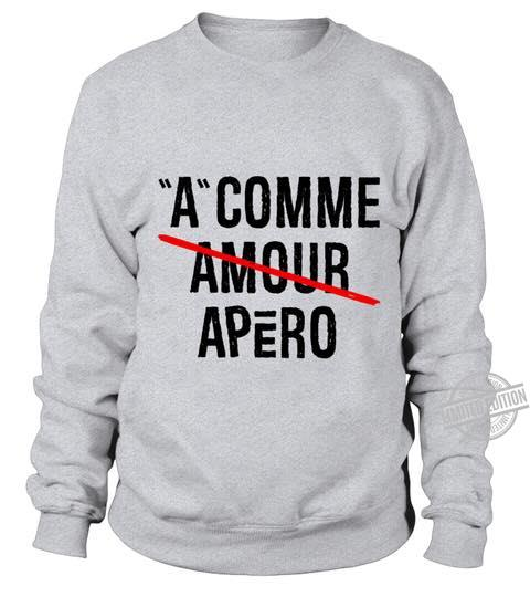 A Comme Amour Apero Shirt
