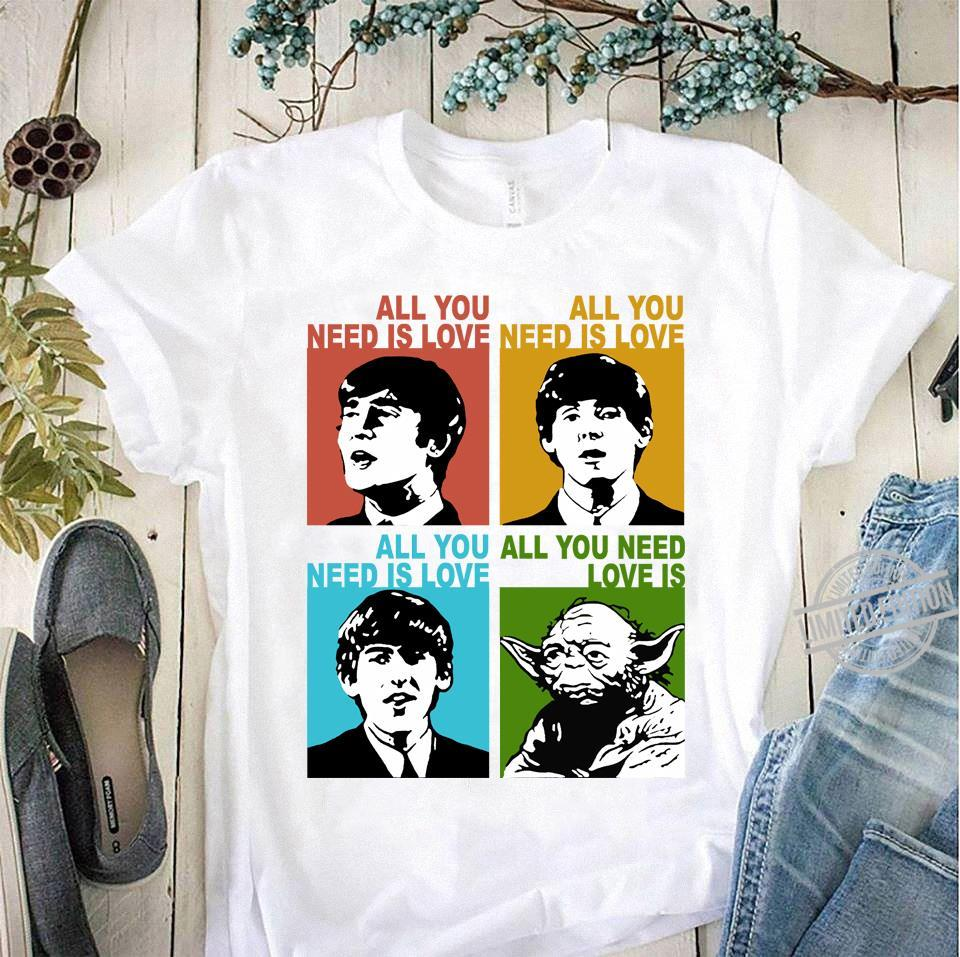 All You Need Is Love Yoda Shirt