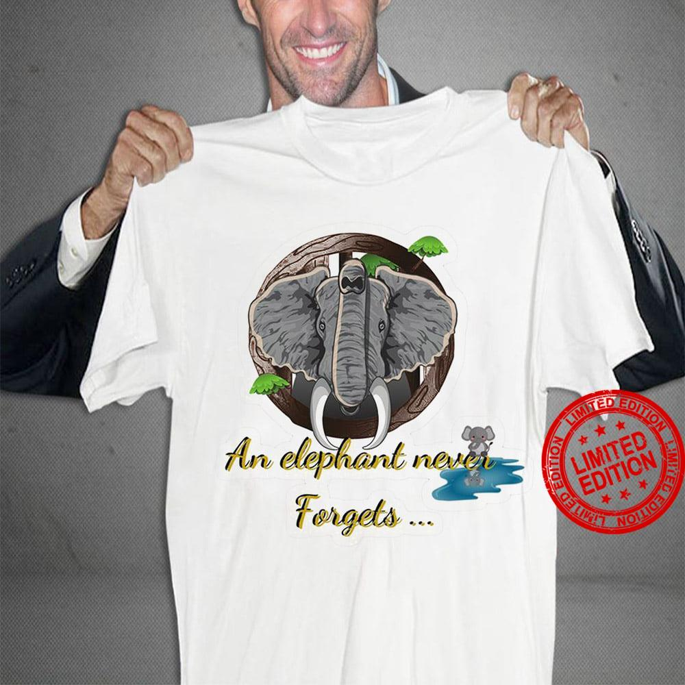 An Elephant Never Forgets Shit