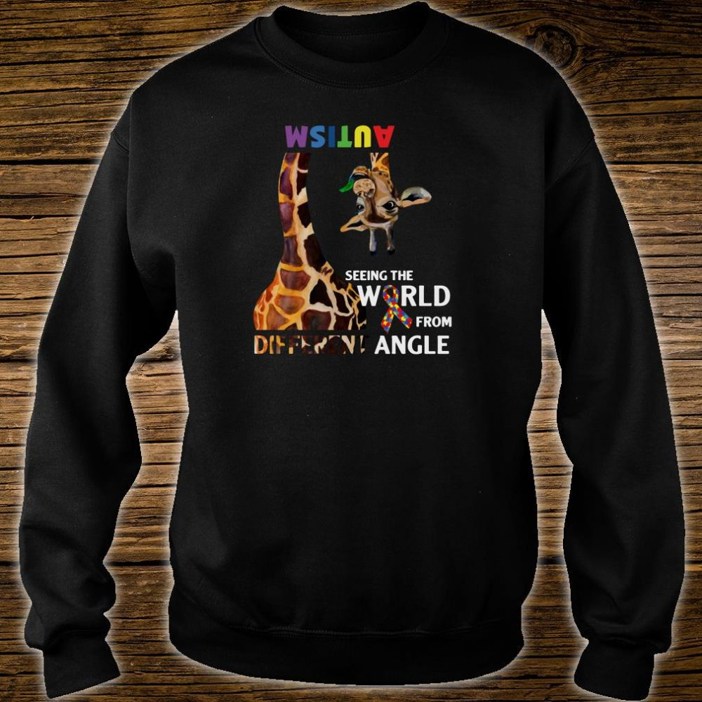 Autism seeing the world from different angle shirt sweater