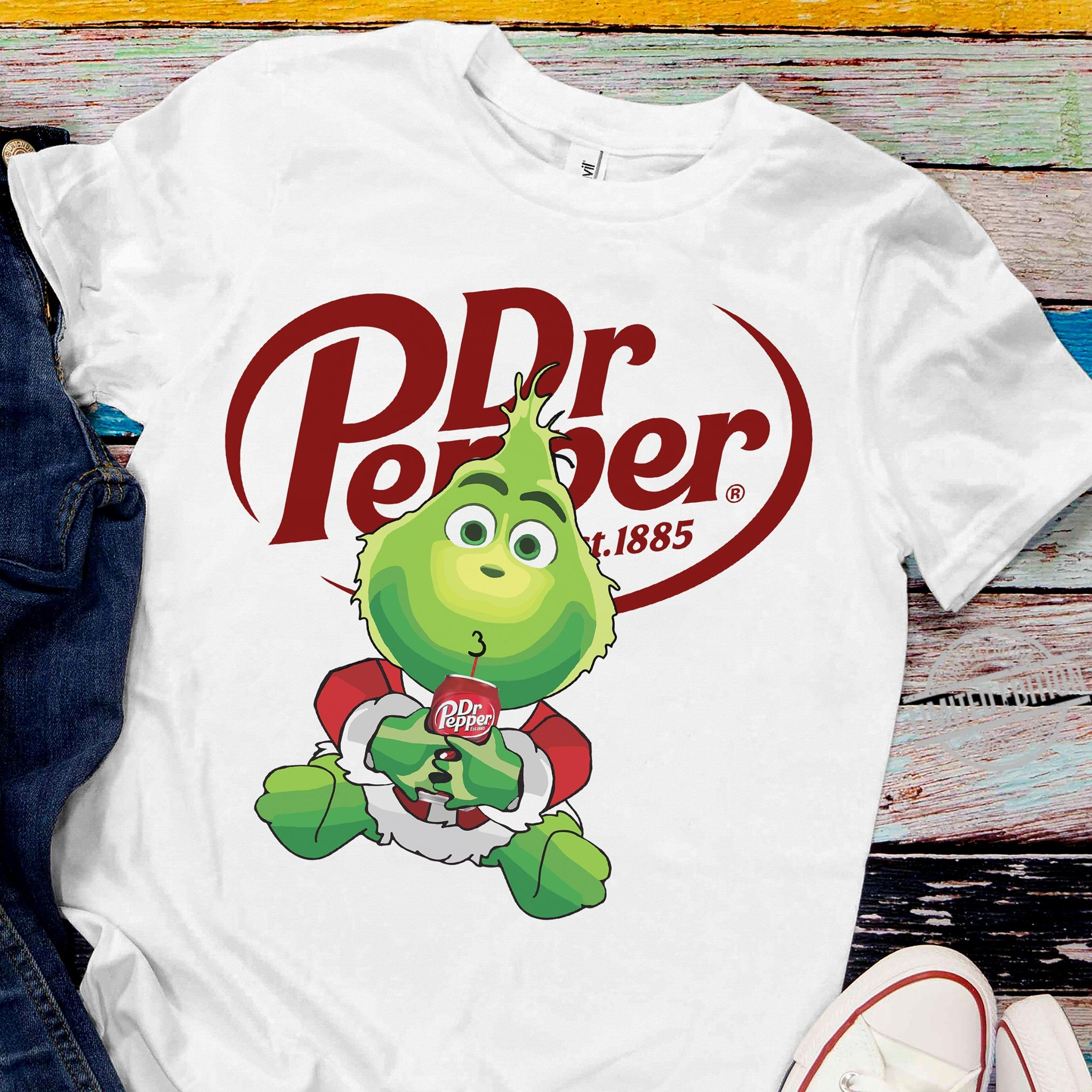 Baby Grinch Drink Dr Pepper Shirt