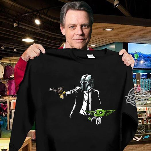 Baby Yoda And Fett Gun Shirt