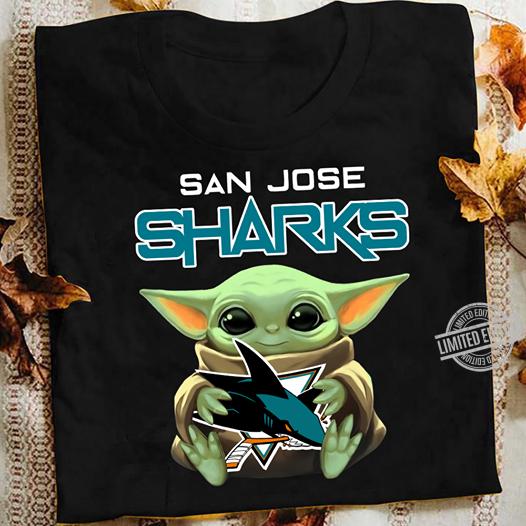 Baby Yoda And San Jose Sharks Shirt