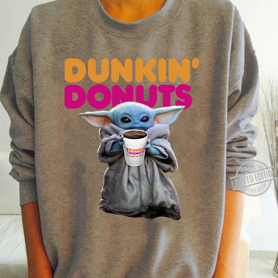 Baby Yoda Dunkin's Donuts Shirt