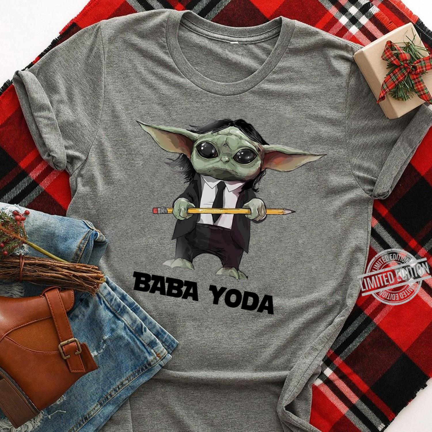 Baby Yoda is A Teacher Shirt