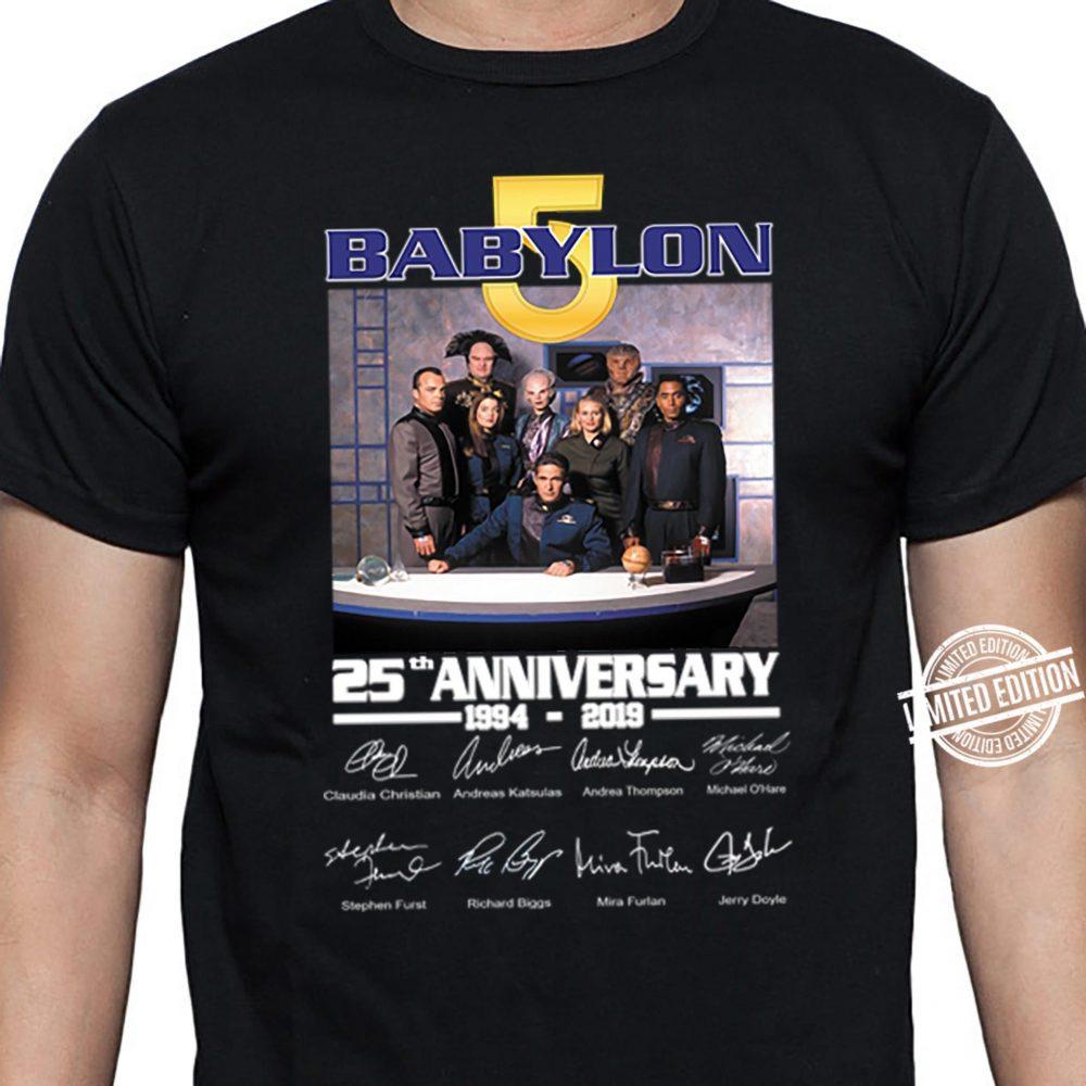 Babylo 5 25th anniversary Shirt