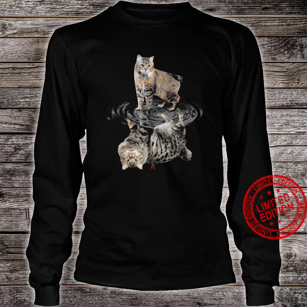 Cat Water Reflective Shirt long sleeved