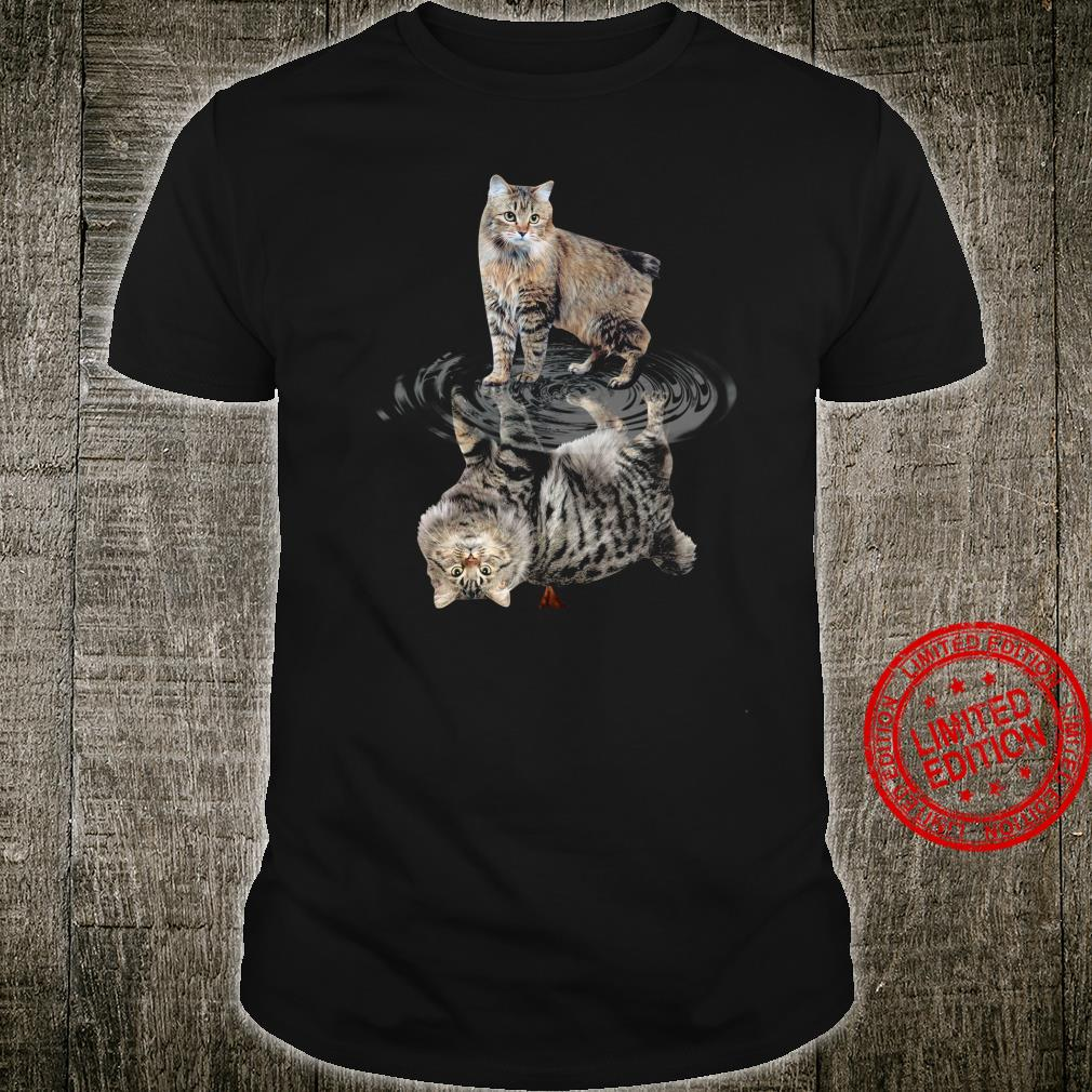 Cat Water Reflective Shirt unisex