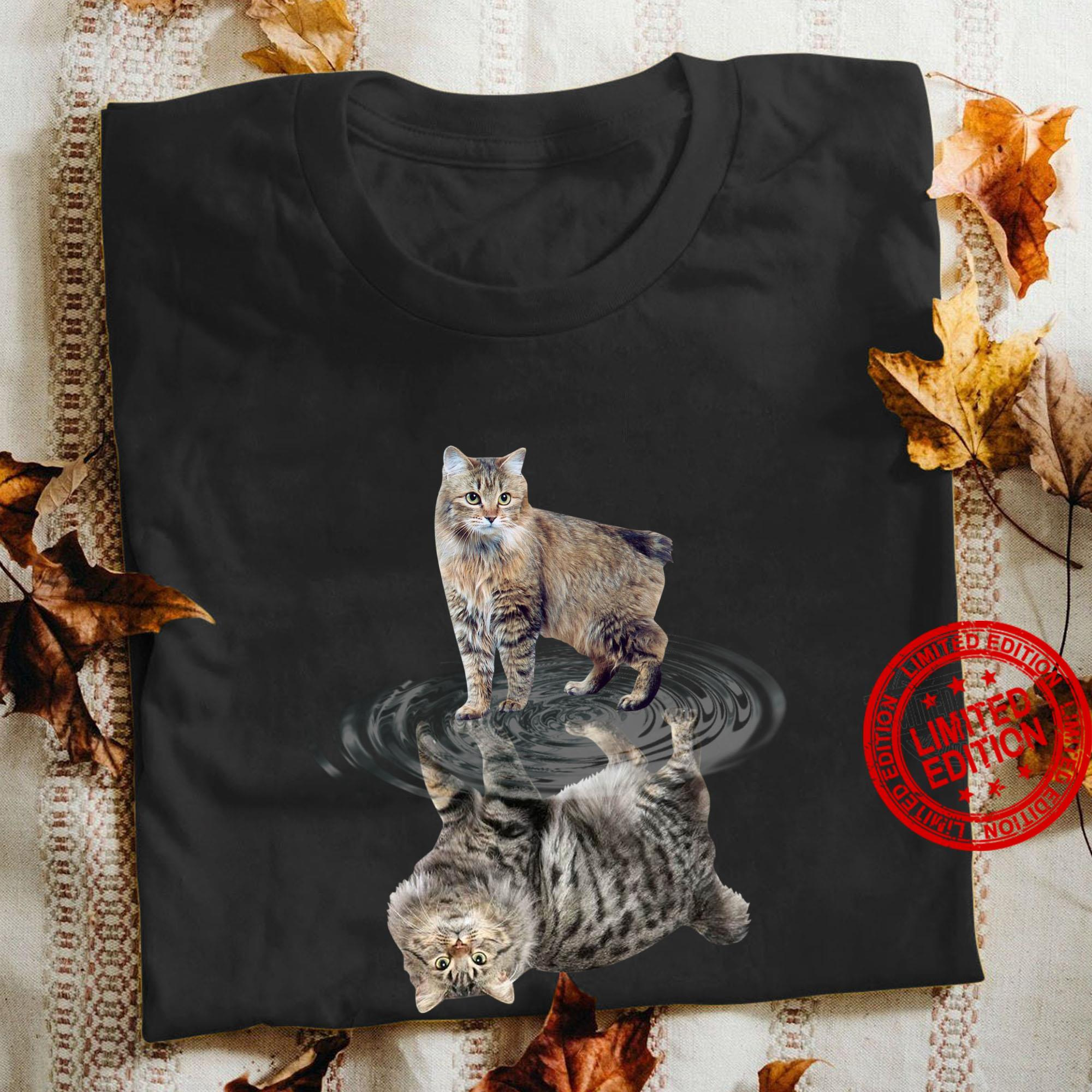 Cat Water Reflective Shirt