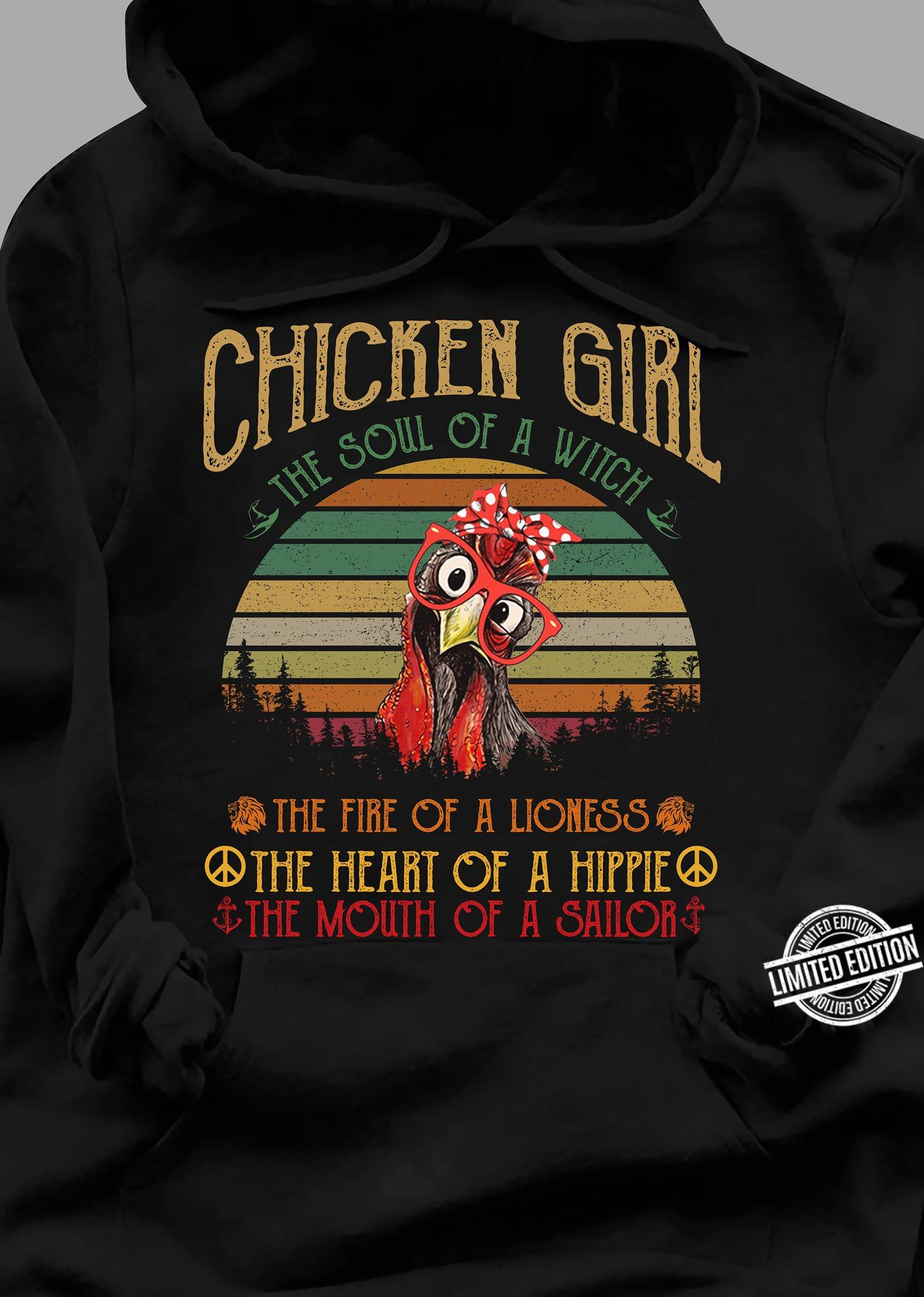 Chicken Girl The Soul Of A Witch Shirt