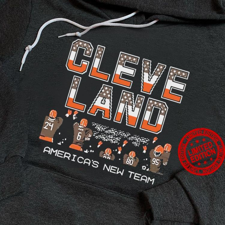 Cleve Land America's New Team Shirt