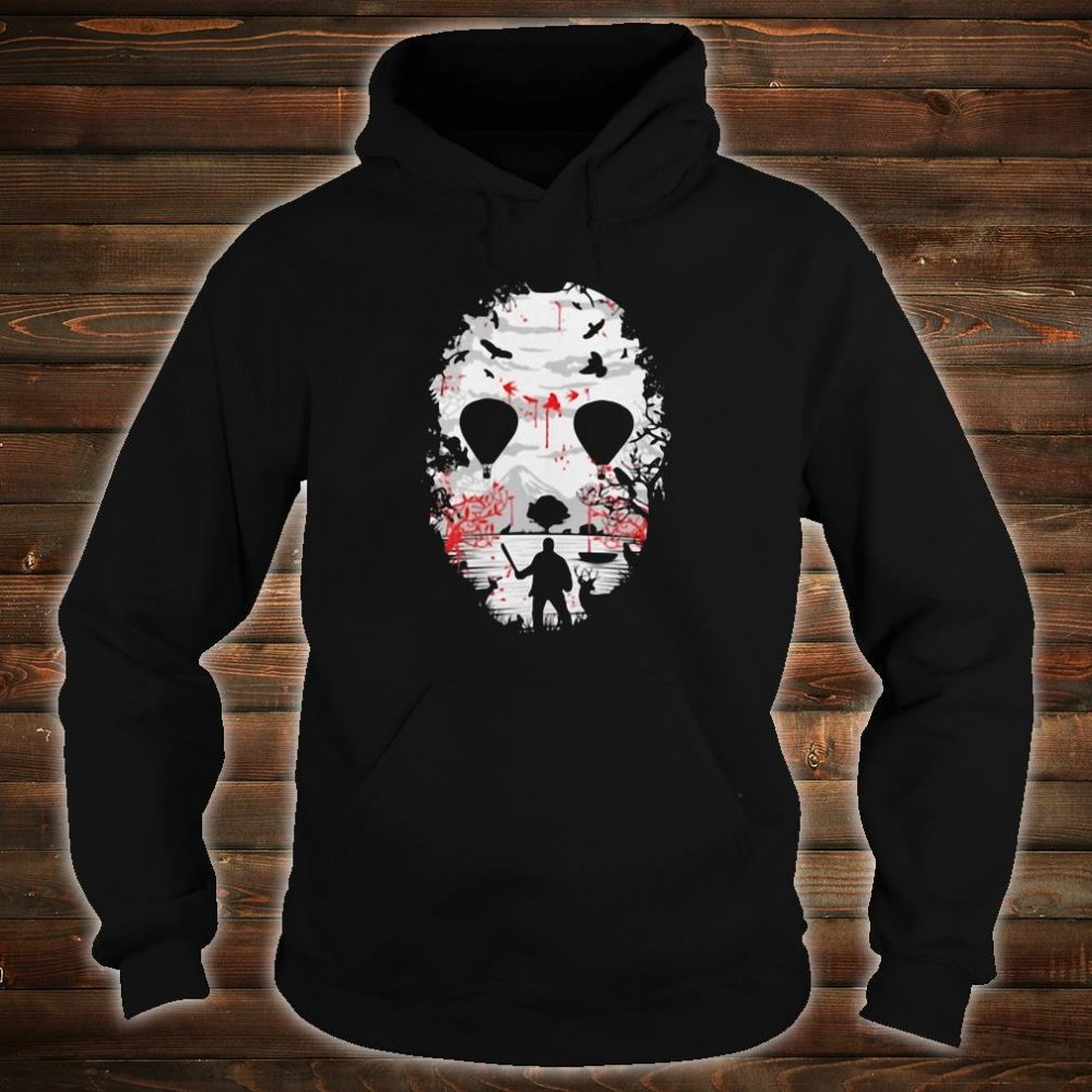 Day of the dead a man with a knife halloween shirt hoodie