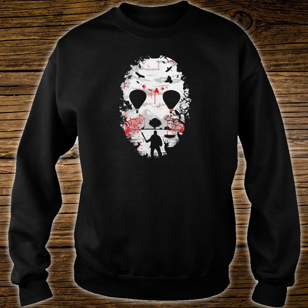 Day of the dead a man with a knife halloween shirt sweater