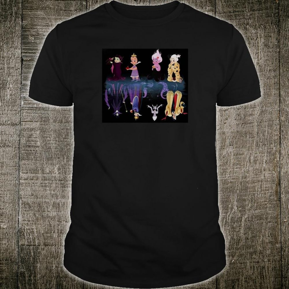 Disney witches in water shirt