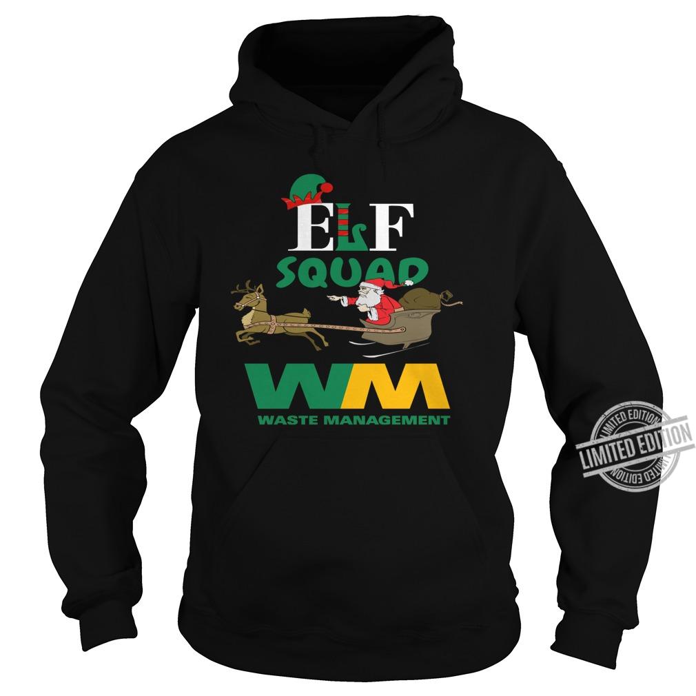 ELF Squad WM Waste Management Santa Shirt