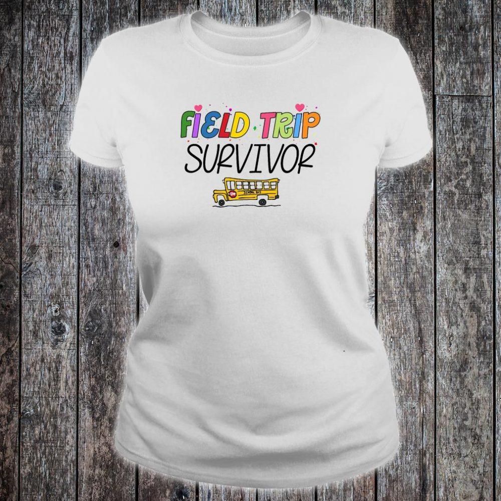 Field trip survivor shirt ladies tee