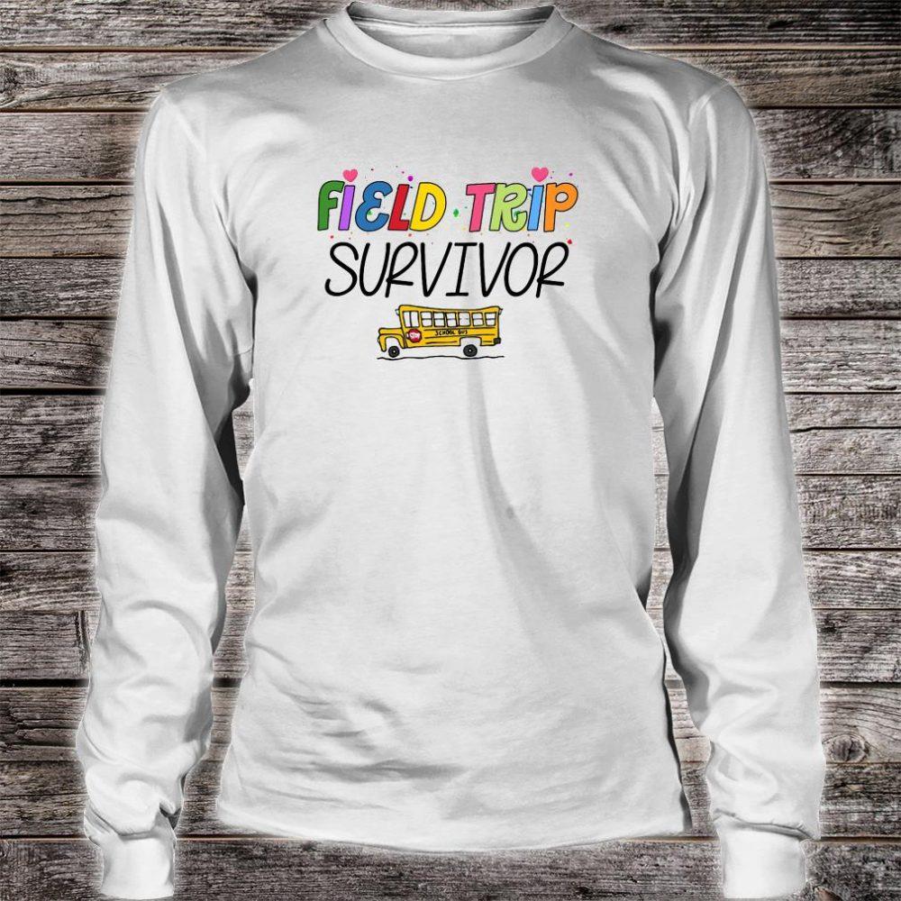 Field trip survivor shirt long sleeved