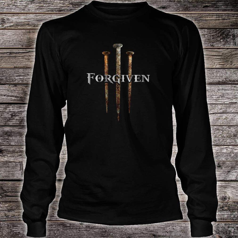 Forgiven shirt long sleeved