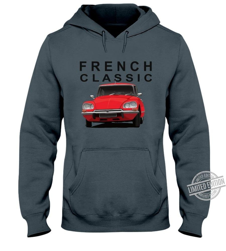 French Classic Car Shirt
