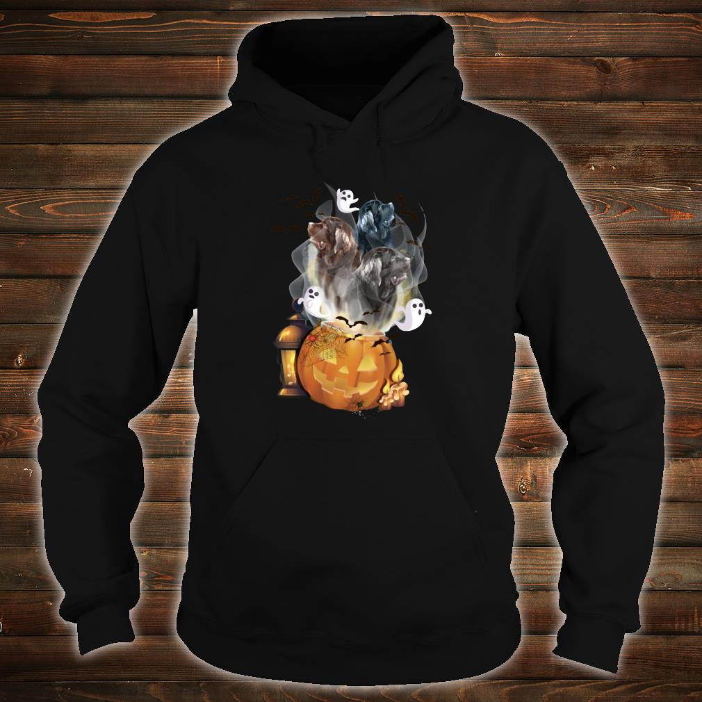 Ghosts escape from pumpkin shirt hoodie