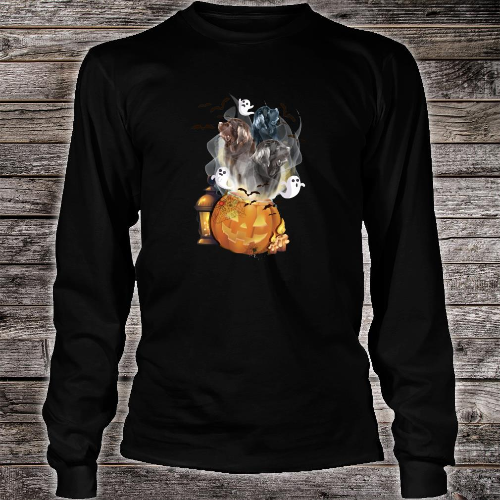 Ghosts escape from pumpkin shirt long sleeved