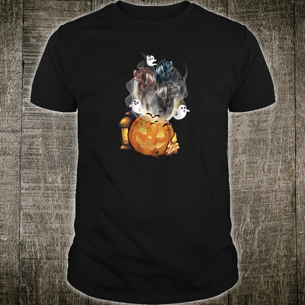 Ghosts escape from pumpkin shirt
