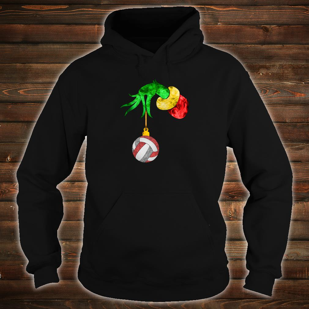 Grinch's hand and the ball shirt hoodie