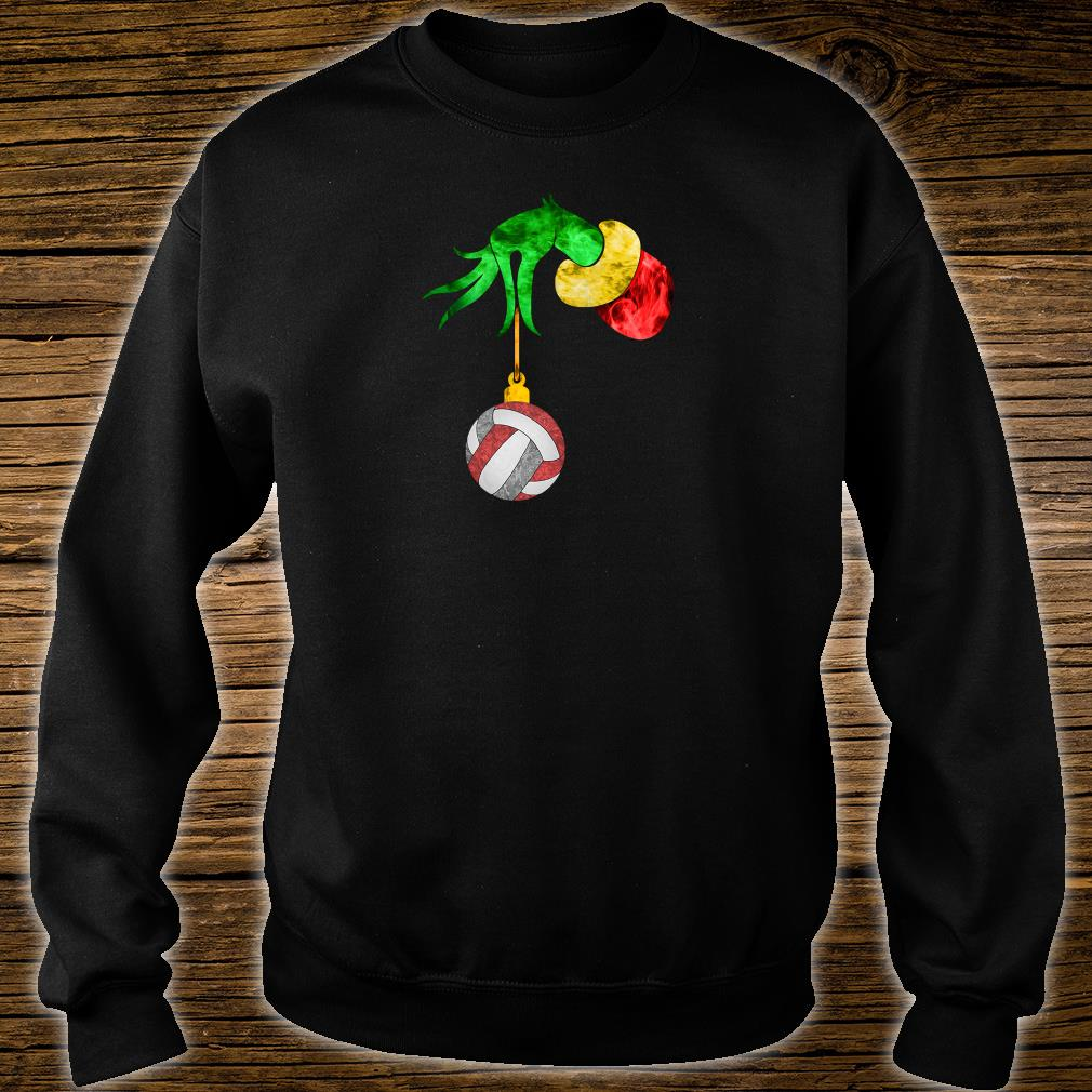 Grinch's hand and the ball shirt sweater