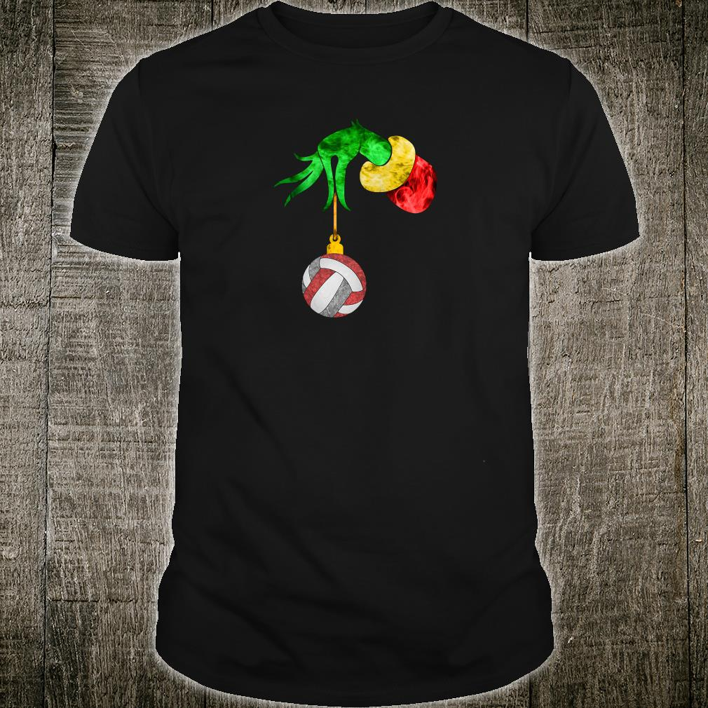 Grinch's hand and the ball shirt