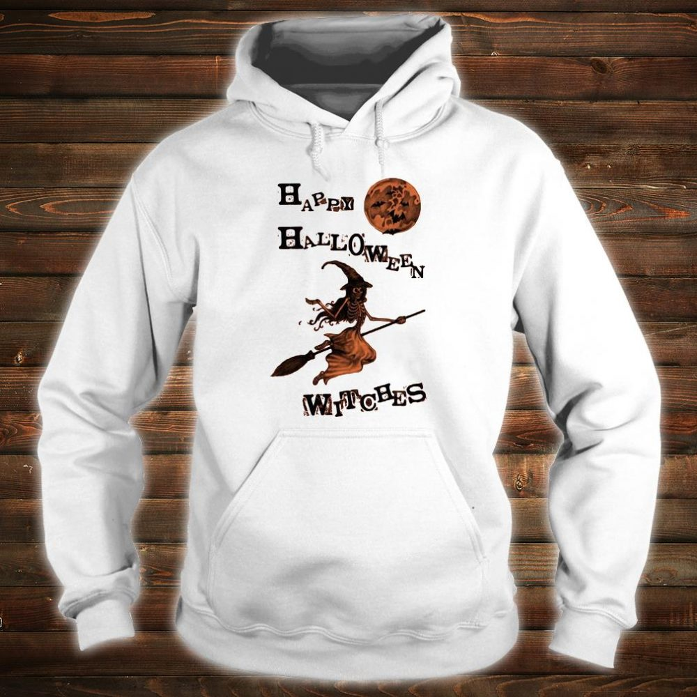 Happy halloween witches shirt hoodie