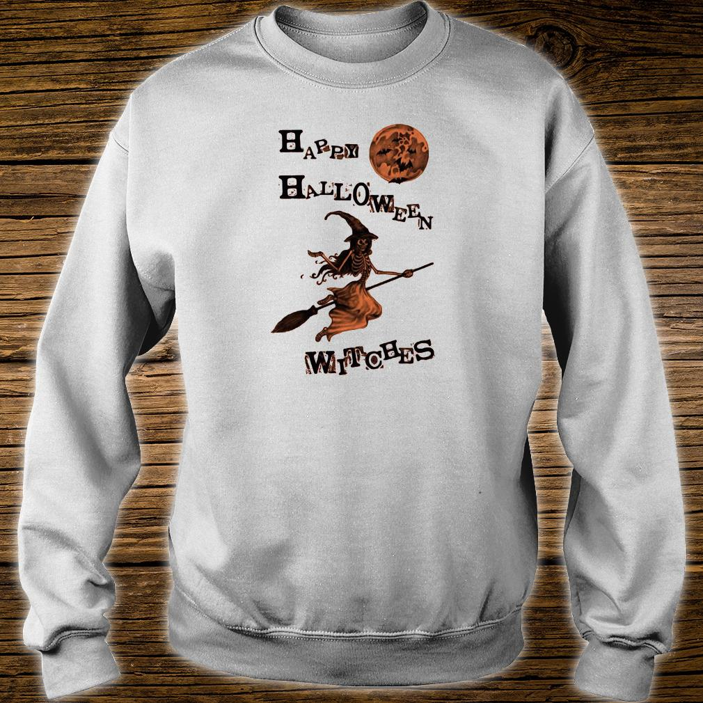 Happy halloween witches shirt sweater