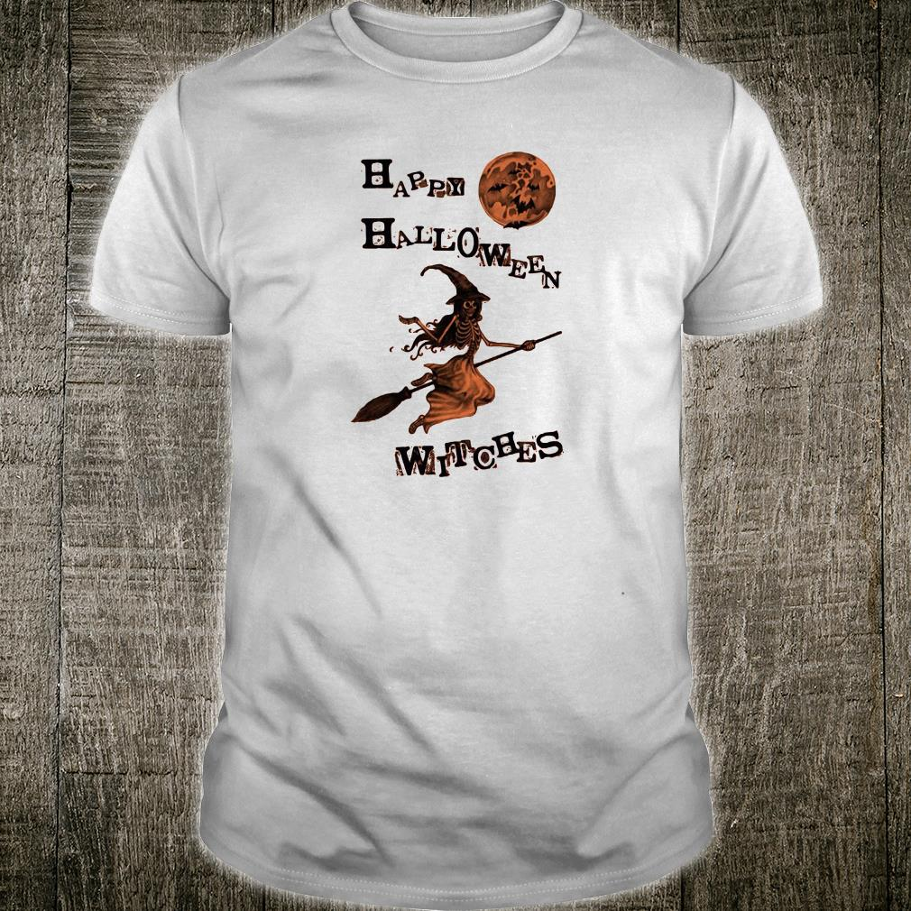 Happy halloween witches shirt