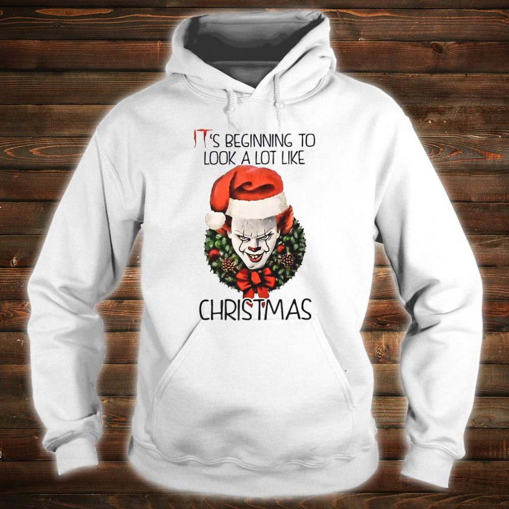 IT's beginning to look a lot like Christmas shirt hoodie