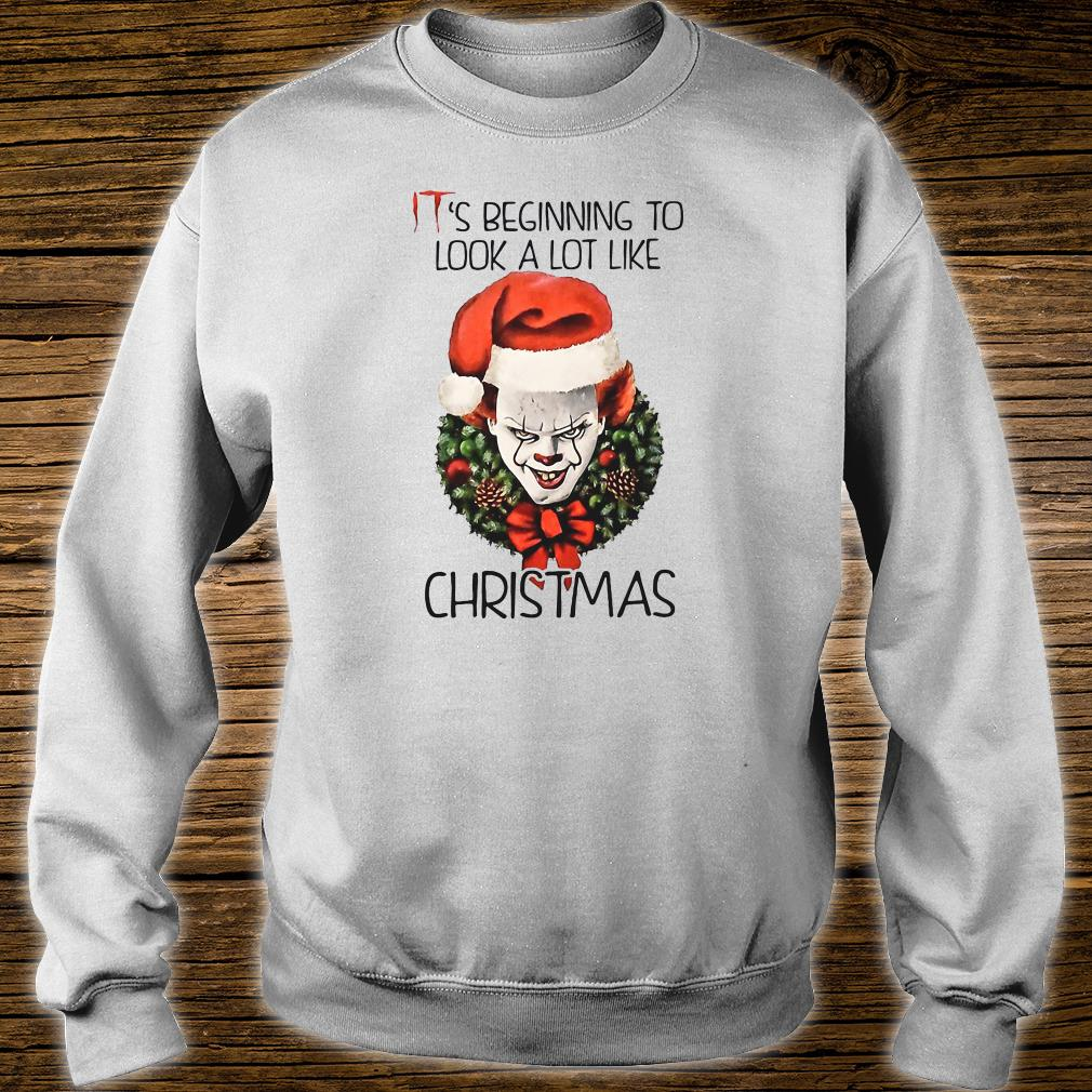 IT's beginning to look a lot like Christmas shirt sweater