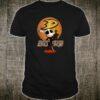 Jack Skellington holding hockey stick Anaheim Ducks shirt