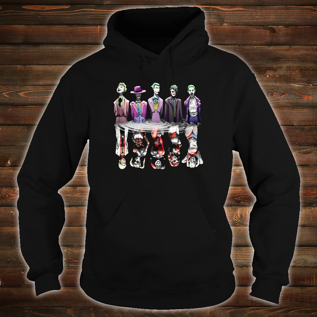 Joker and Harley Quinn the Evolution shirt hoodie