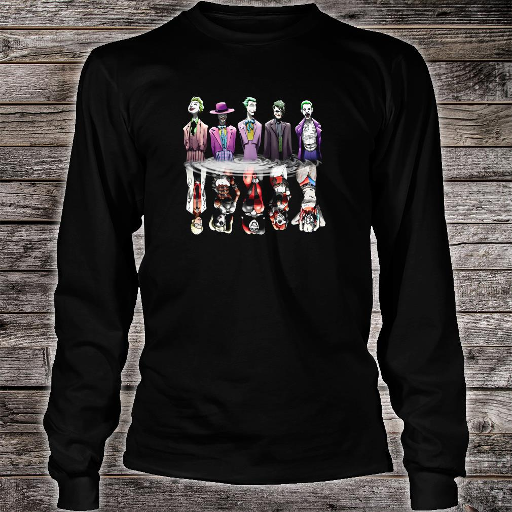Joker and Harley Quinn the Evolution shirt long sleeved