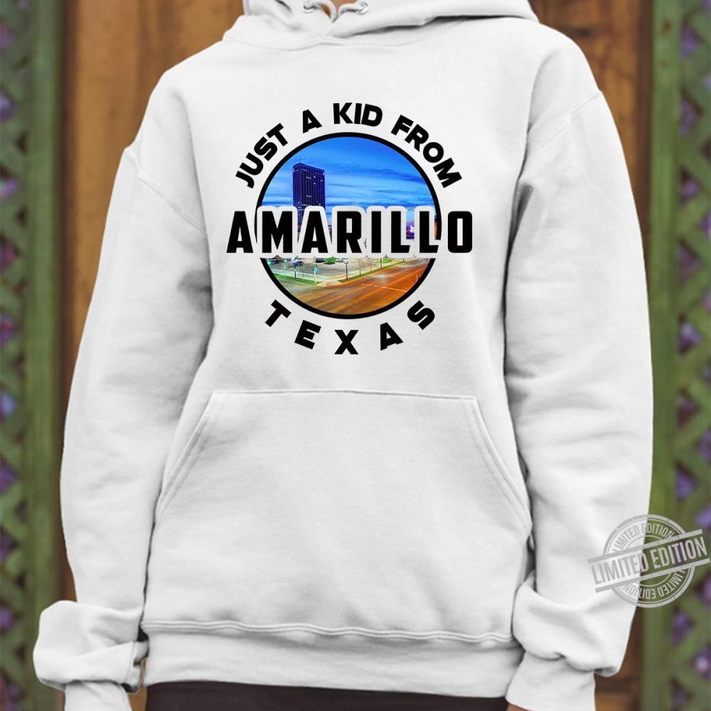 Just A Kid From Amarillo Texas Shirt